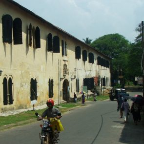 A street in Galle Fort